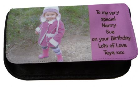PERSONALISED PENCIL CASE or MAKE UP BAG